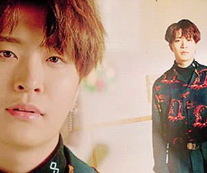 gif, JYP, and youngjae image