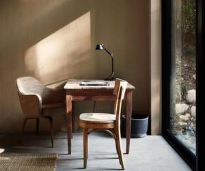 design, wood, and interior image