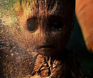 Marvel, groot, and baby groot image