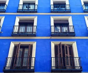 blue, building, and facade image