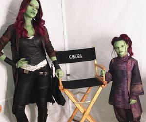 infinity war, gamora, and Marvel image