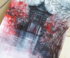 beautiful, paint, and chinese image
