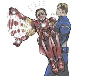 stony and steve rogers image