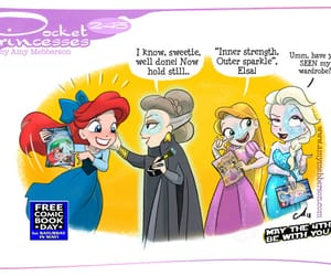 disney princess, pocket princesses, and pocket princess image