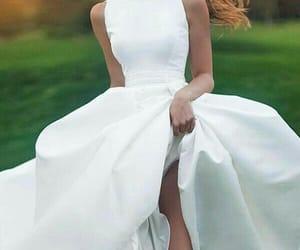 beautiful, elegant, and wedding image