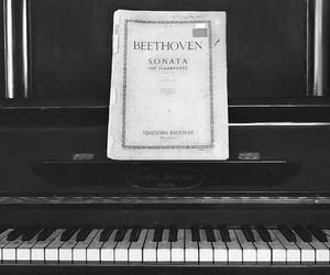 Beethoven, music, and piano image