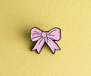 noeud, pink, and pins image