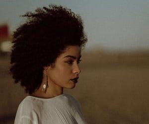 beauty, curly hair, and natural hair image