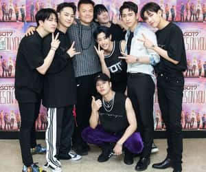 got7, mark, and youngjae image