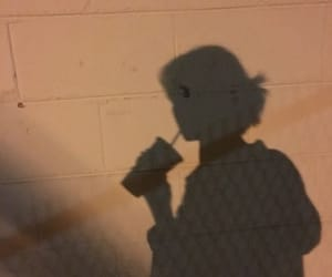 aesthetic, shadow, and brown image