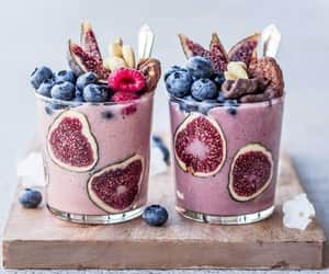 blueberries, delicious, and FRUiTS image