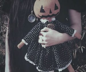 Halloween and doll image