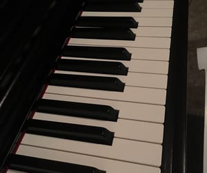music, piano, and song image