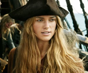 pirates of the caribbean, elizabeth swann, and keira knightley image