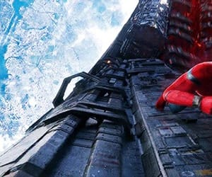Avengers, gif, and spiderman image
