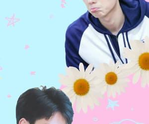 cute wallpaper, pastel wallpaper, and hu yi tian image