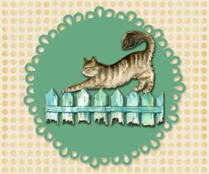 animal, circles, and pastel image
