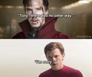 Avengers, last words, and Marvel image