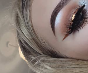eyes, eyeshadow, and goals image