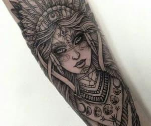 india, manga, and tatto image