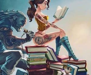 disney, cuadro, and tatto image