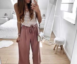 beautiful, girl, and stylish image