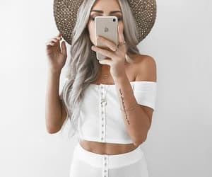 cool, mirror, and style image