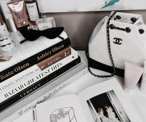 book, bag, and chanel image