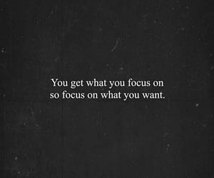 quote, focus, and life quotes image