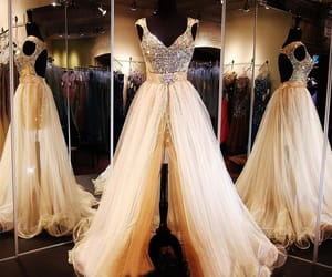dress, prom dress, and promdress image