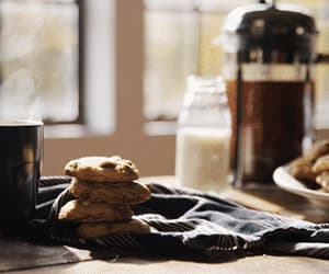 coffee, Cookies, and delicious image