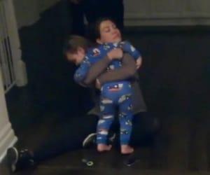 hug, kourtney kardashian, and mason disick image