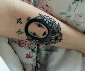 art, chihiro, and ink image