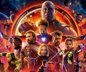 Avengers, loki, and captin america image