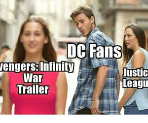 Avengers, DC, and justice league image