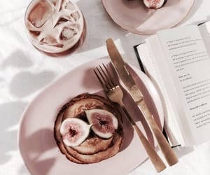 food, aesthetic, and book image