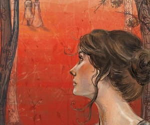 art, jane austen, and painting image