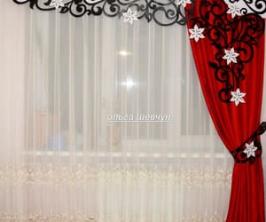 curtains, design, and home image