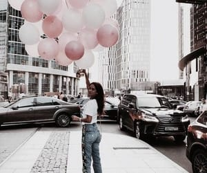 balloons, street style, and cute image