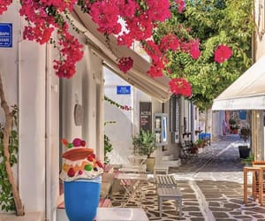 Dream, flowers, and Greece image