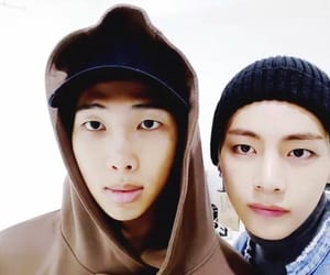 bts, taehyung, and namjoon image