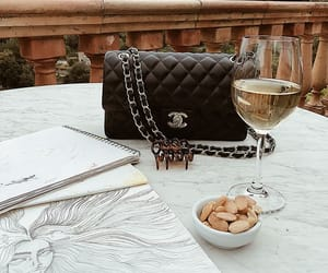 drink, fashion, and chanel image