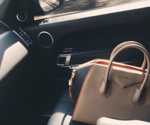 Givenchy, bag, and car image