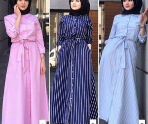 striped maxi dresses image