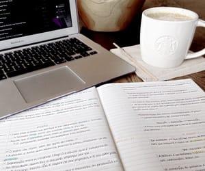 study and coffee image