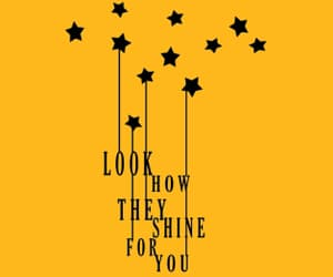 coldplay, color, and Lyrics image
