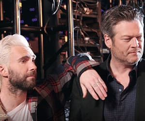 actor, funny face, and blake shelton image