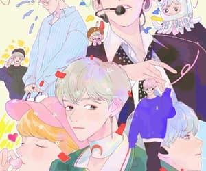 exo, fanart, and kawaii image