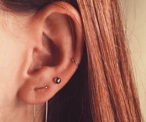 aesthetic, double, and earlobe image