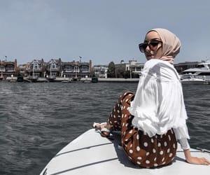 fashion, hijab, and summer image